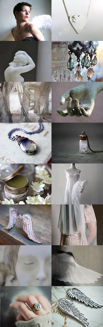 Angel by Carice on Etsy--Pinned with TreasuryPin.com