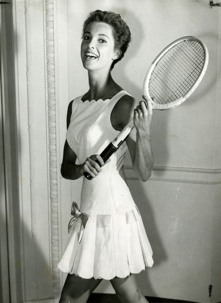 Ted Tinling tennis dress.