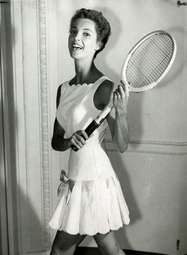Ted Tinling tennis dress.