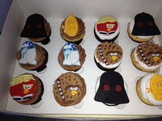 Angry Birds Star Wars Cake & Cupcakes — Childrens Birthday Cakes