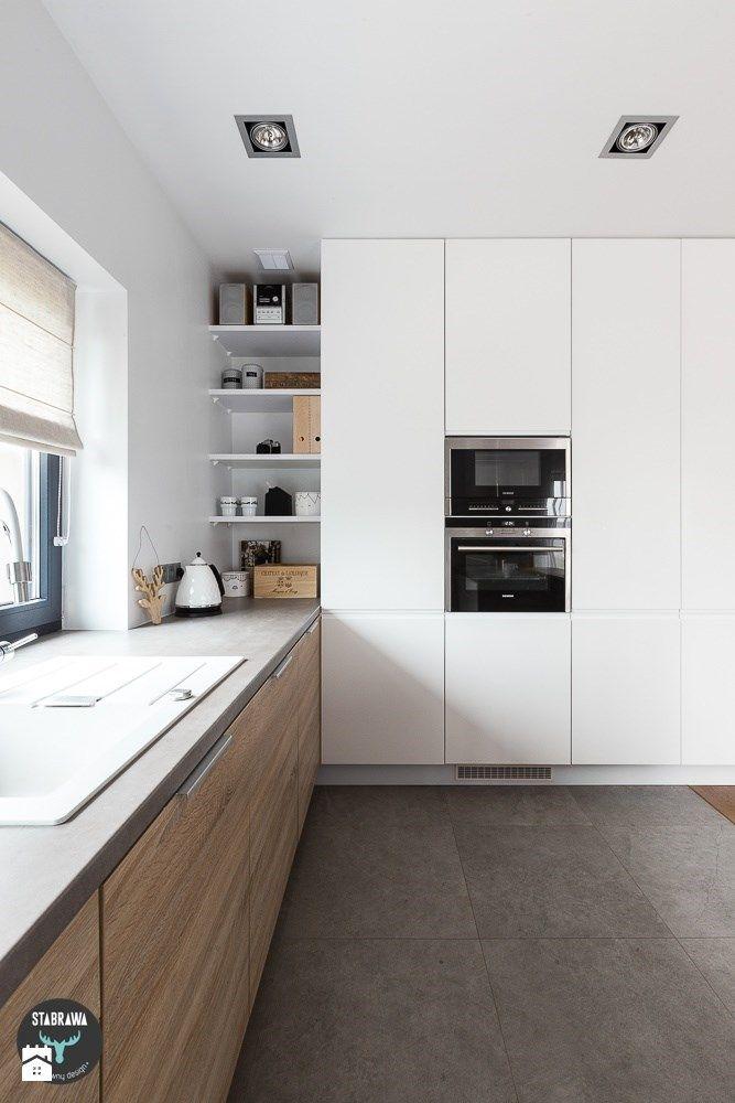 Kuchnia styl Skandynawski Kuchnia - zdjęcie od STABRAWA.PL - pozytywny design http://amzn.to/2keVOw4