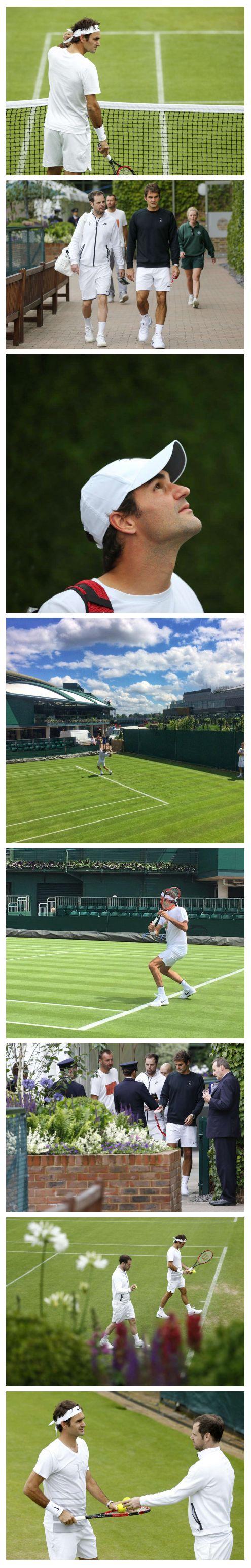 Roger Federer | Wimbledon 2016