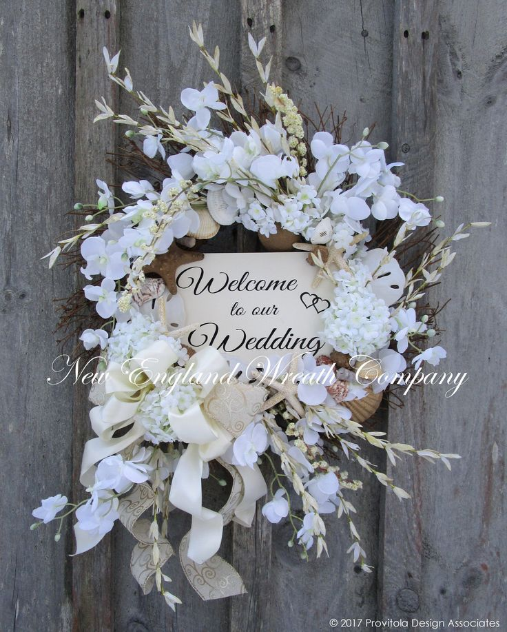 Best 25+ Wedding wreaths ideas on Pinterest | Wedding door ...