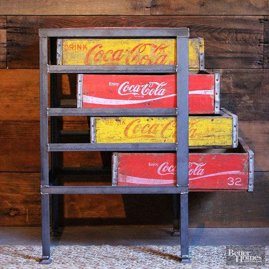 Best 25 coke crate ideas ideas on pinterest repurpose for Re storage crate