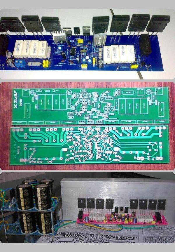 500W Power Amplifier Circuit Apex B500 apex b500 power