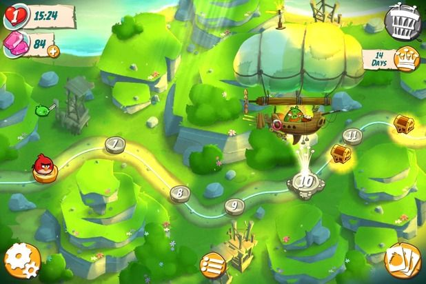 angry birds 2 world map - Google Search