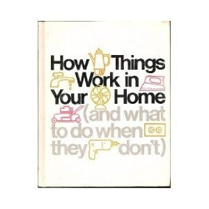 How Things Work in Your Home, and What to Do When They Don't [Hardcover]: Things Work, Old Book, Idea, Graphicdesign, Graphics Design, Covers Design, Book Design, Vintage Book Covers, Bookdesign