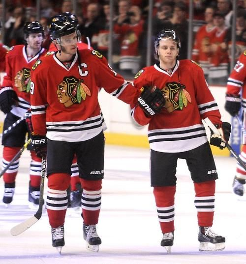 "Contract extensions for Kane and Toews are #Blackhawks' ""highest priority."""