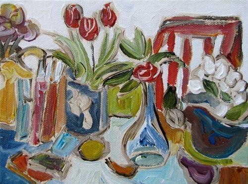 """Afternoon"" - Original Fine Art for Sale  © Kristin Gibson http://www.fineartandfabric.com"