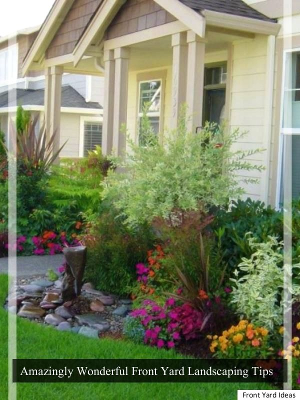 front yard landscape tips for curb appeal front yard ideas rh pinterest com