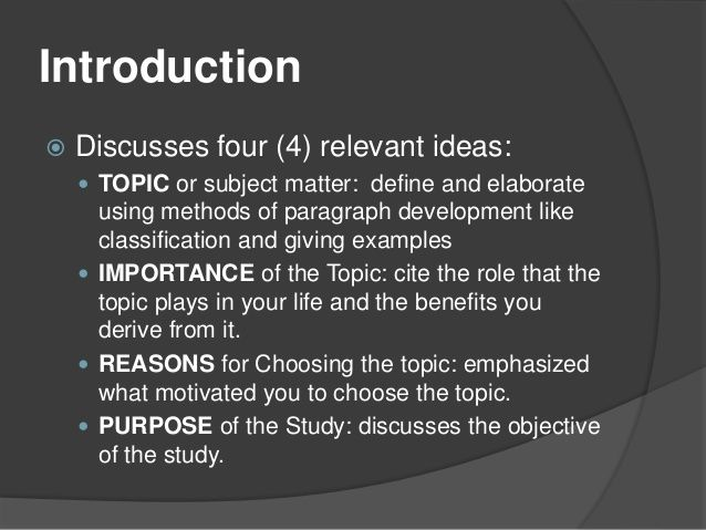 Define ideas in a research paper geology editor sites