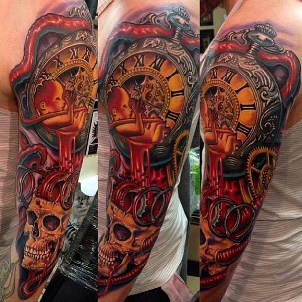 Always loved the tattoos done by Roman Abrego. US Tattoo Scene. #tattoo #tattoos #ink