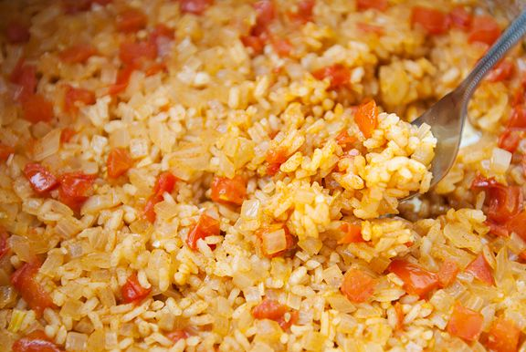 mexican red rice **my faaavorite, yay! | My Passion