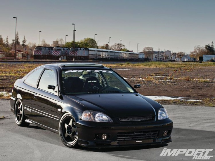 2000 Honda Civic Si - Mr. Clean