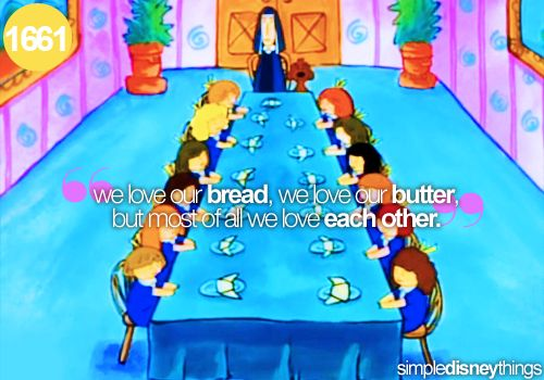 Our Love For Each Other: We Love Our Bread, We Love Our Butter, But Most Of All We