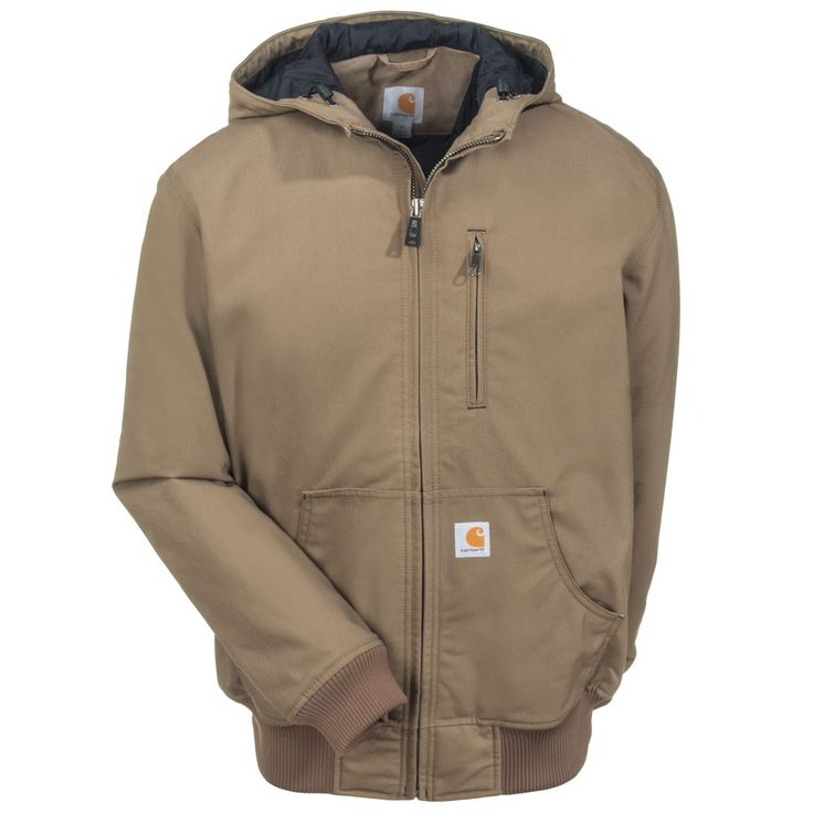 Carhartt Clothing Men's 101493 908 Canyon Brown Quick Duck Jefferson Active Jacket