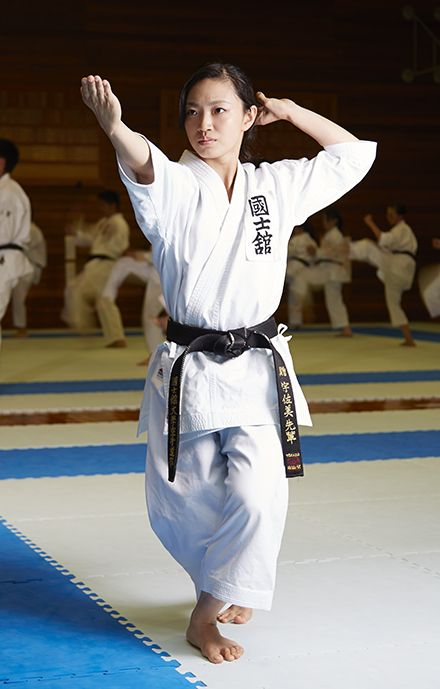 "Rika Usami, the ""Queen of Kata"""