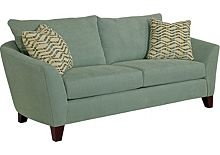 Ordering these in a lovely taupe with taupe and aqua accent pillows.  Couch and loveseat! Finally, new living room furniture!