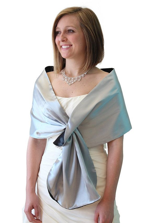 Hey, I found this really awesome Etsy listing at https://www.etsy.com/listing/128042103/silk-feel-satin-reversible-bridal-wrap