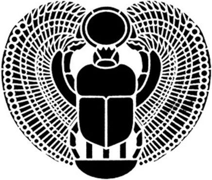 Скарабей - древний символ для привлечения богатства