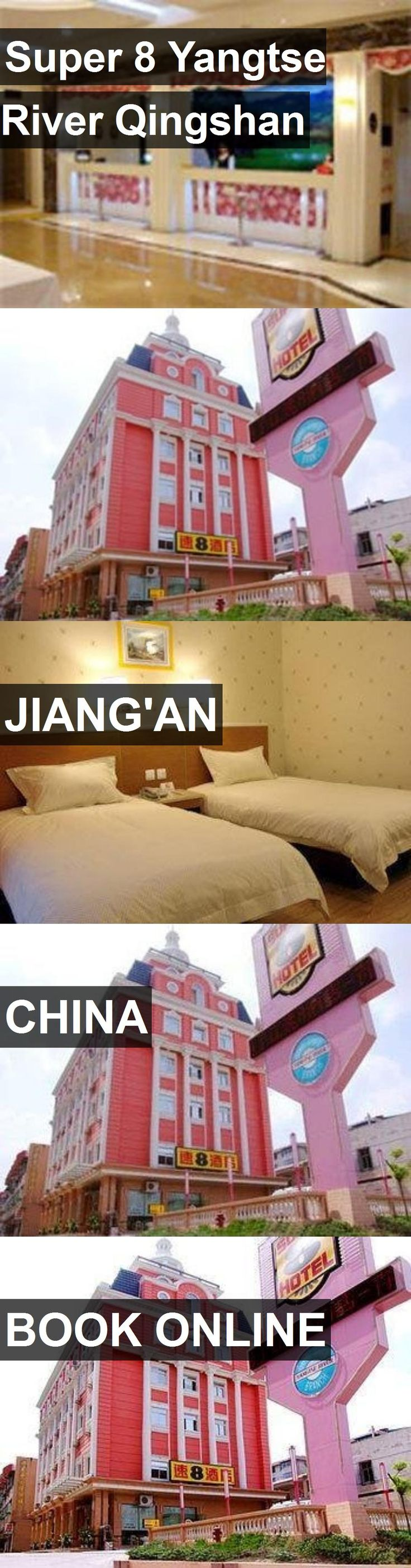 Hotel Super 8 Yangtse River Qingshan in Jiang'an, China. For more information, photos, reviews and best prices please follow the link. #China #Jiang'an #Super8YangtseRiverQingshan #hotel #travel #vacation