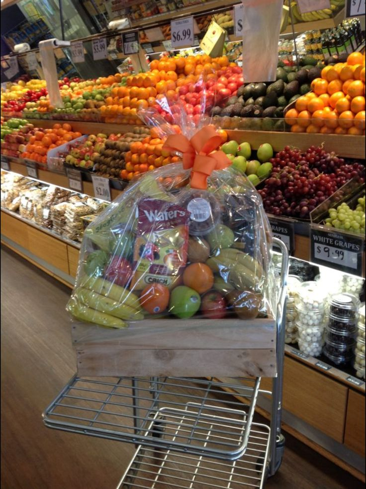 Fresh fruit and produce hampers at Essendon Fruit Supply