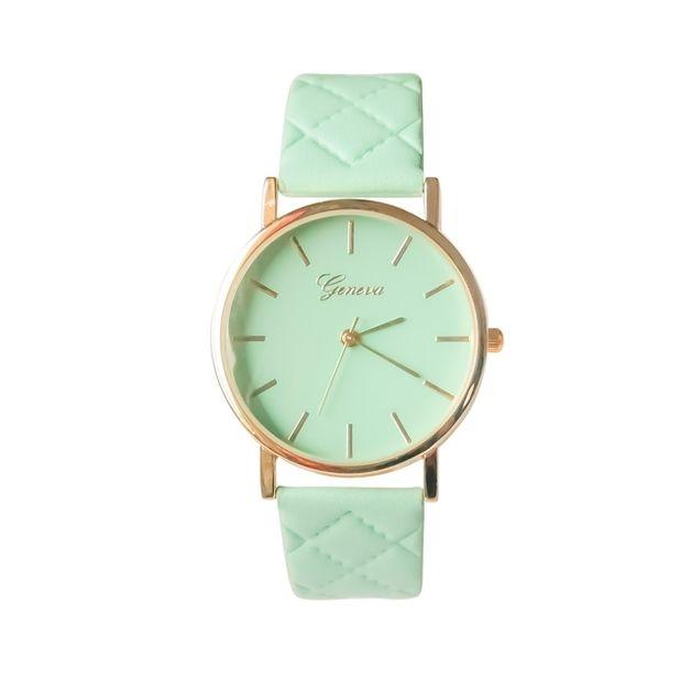 Zegarek bransoletka pastelowy pikowany- NOWOŚĆ! - KAMOSE-SWIECIDLA - Zegarki na rękę