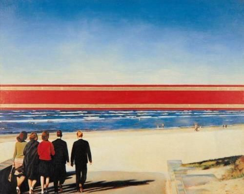 Erik Bulatov, Horizon. 1972