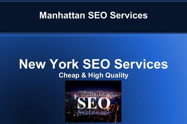 Manhattan SEO Services #NY #SEO #NewYork