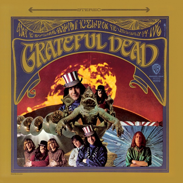 ☮ American Hippie Psychedelic Rock Music Album Cover Art ~ Grateful Dead