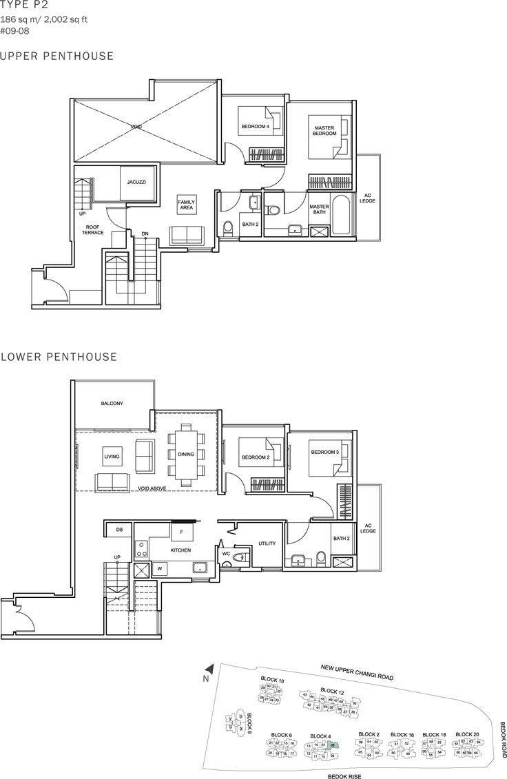The Glades Condo Floor Plan - 4BR Penthouse - P2 - 186 sqm-2002 sqft.JPG