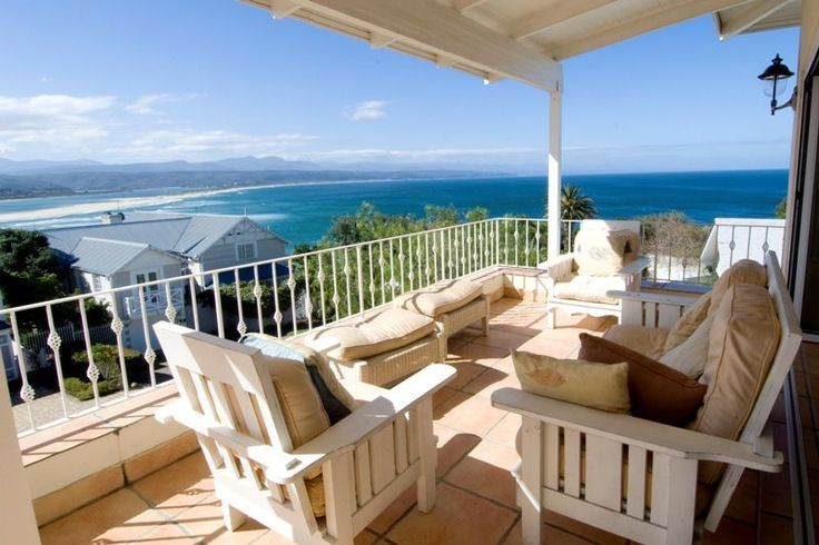 Villa Plett - Villa Plett is a beautiful and luxurious, five-bedroom villa situated in Plettenberg Bay. The views of the Lookout Beach area, the tidal lagoon and the mountains beyond are spectacular. The house is ... #weekendgetaways #plettenbergbay #southafrica