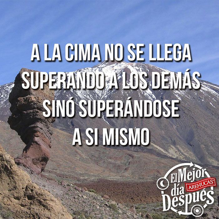 ¡No se puede vencer a quien nunca se rinde!  Canarias - La cuna del ron  #Arehucas #mejordiadespues