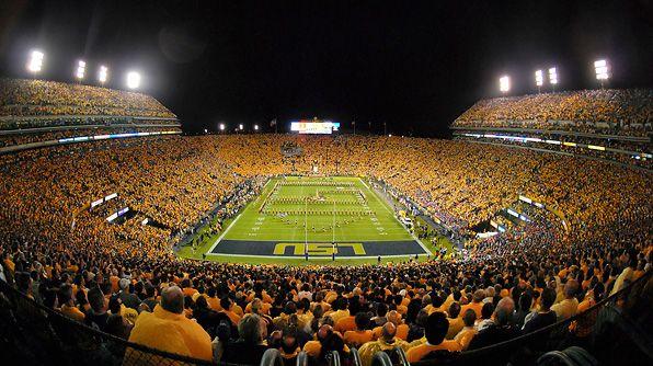 "Tiger Stadium, ""Death Valley,"" LSU; Baton Rouge, Louisiana. One of my favorites."