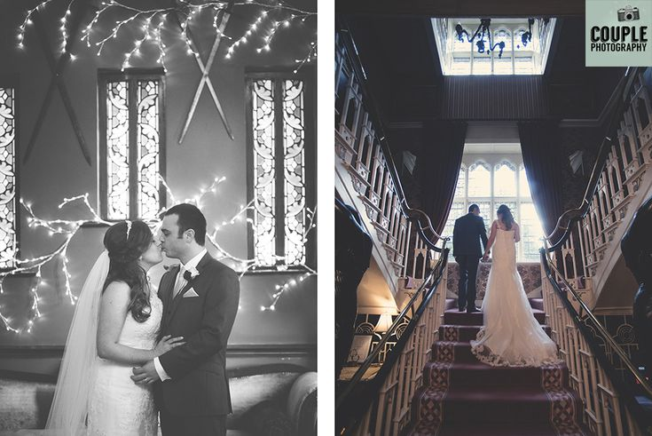 Beautiful photos of the bride & groom in Cabra Castle. Weddings at Cabra Castle by Couple Photography.