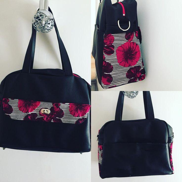 """12 Likes, 4 Comments - @l_abeille_et_les_chas on Instagram: """"Super contente de mon nouveau sac boogie de sacotin . Je vais m en servir pour le travail et je l…"""""""
