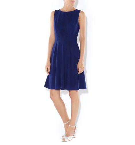 NW3 Flower Laser Cut Dress