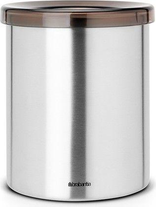 Настольное контейнер для мусора 1л стальной матовый Brabantia 477386