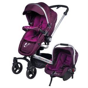 Baby2Go Travel Sistem Volo Premium Bebek Arabası Mor 2016