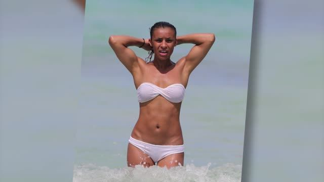 VIDEO: Former Pussycat Doll Melody Thornton Looks White-Hot in a Bikini in Miami - http://ontopofthenews.net/2013/07/10/entertainment/video-former-pussycat-doll-melody-thornton-looks-white-hot-in-a-bikini-in-miami/