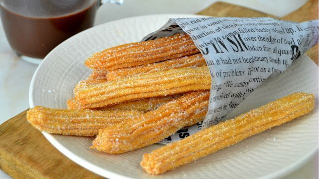 Como Hacer Churros Caseros Churros Homemade Churros Easiest Recipe In The World