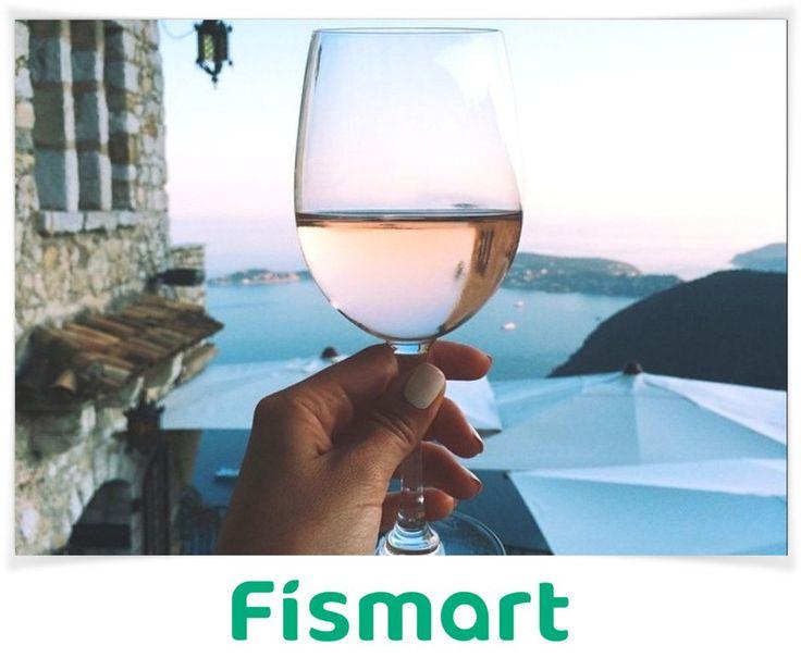 Море + вино = счастье 💜