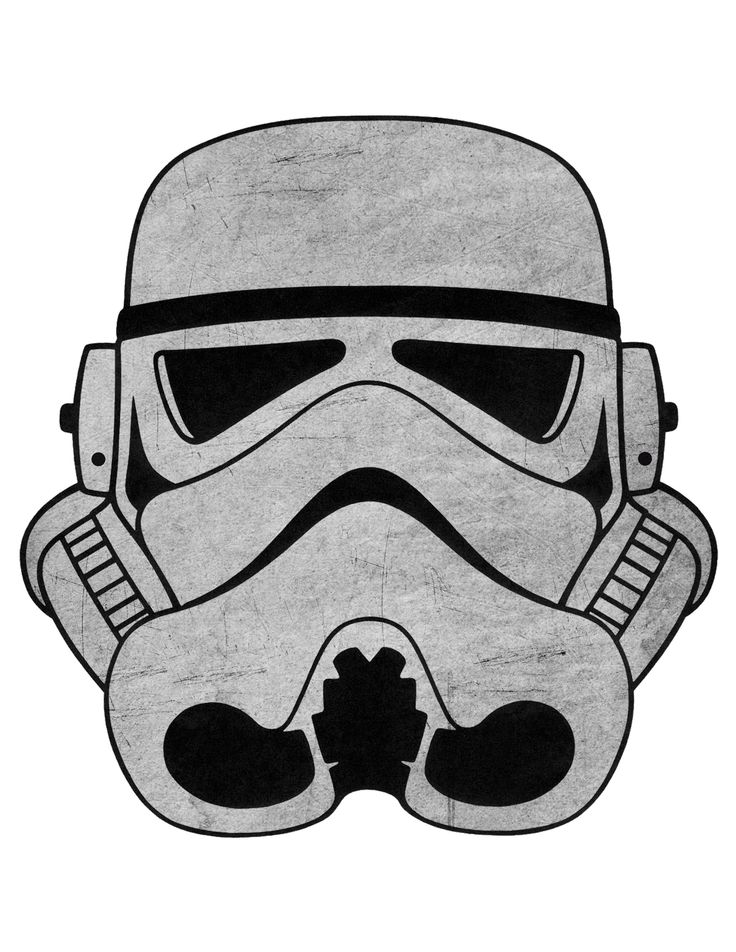 Stormtrooper Template Stormtrooper Mask Star Wars