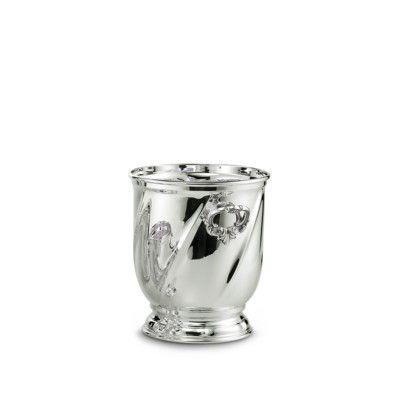 Secchio ghiaccio modello torsè in argento in confezione regalo. Argento 800…