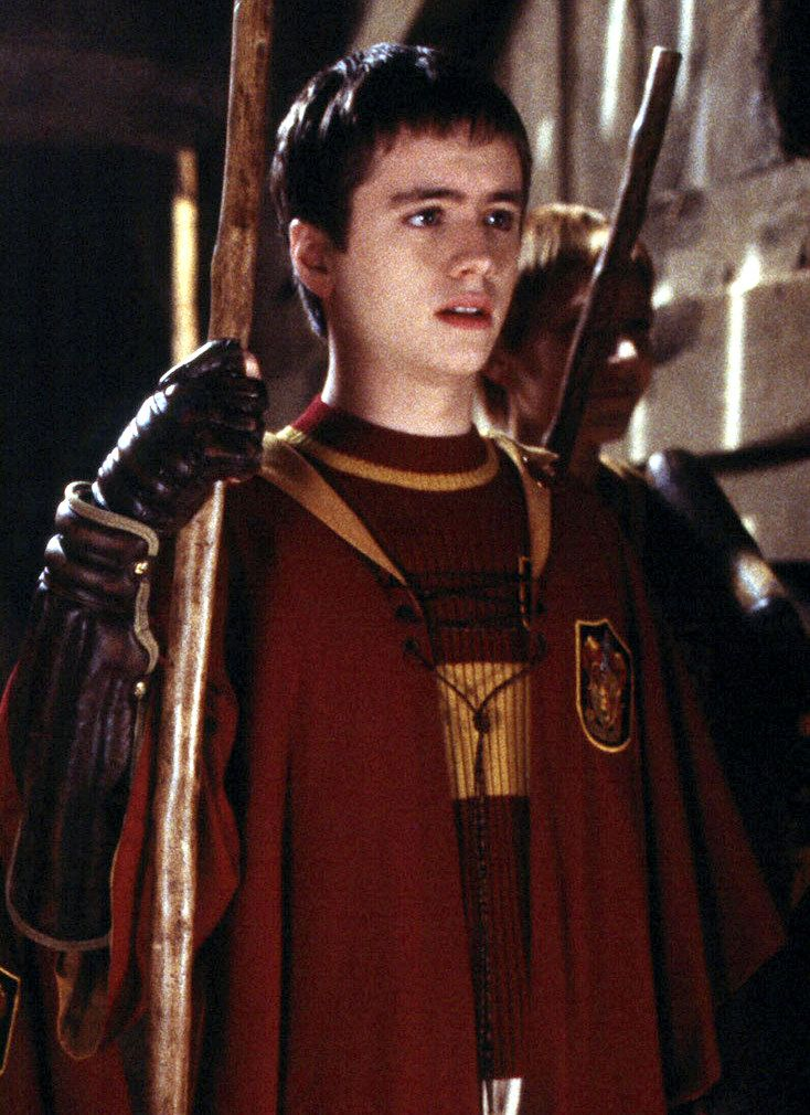Day 7 of the HP 30 day challenge. I LOVE Oliver Wood. He is definitely my favorite minor character.