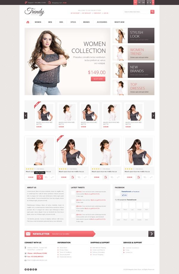 39 best images about magento template on Pinterest