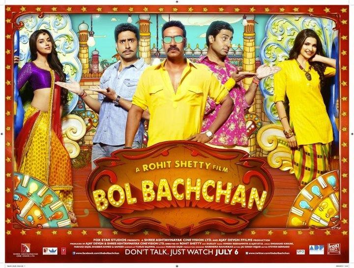 Bol Bachchan (2012)  http://rjgratings.blogspot.com/2012/07/bol-bachchan-2012.html