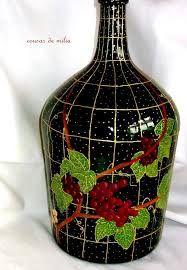 garrafas pintadas a mano - Buscar con Google