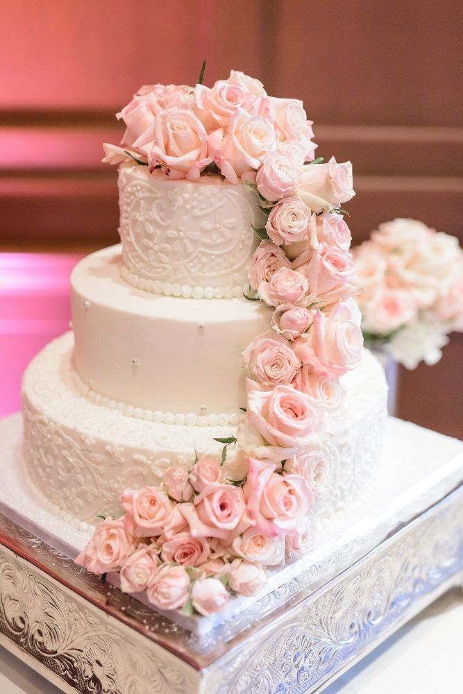 wedding cakes white and light pink 17 best images about wedding cakes on square 25946