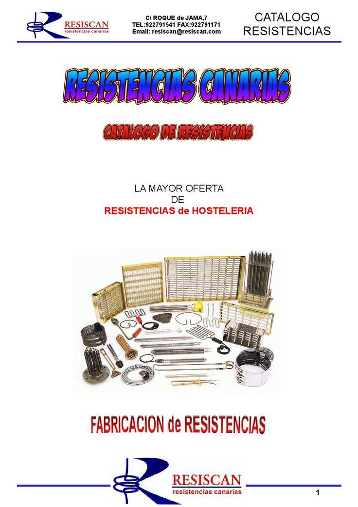 Catalogo resiscan 2014